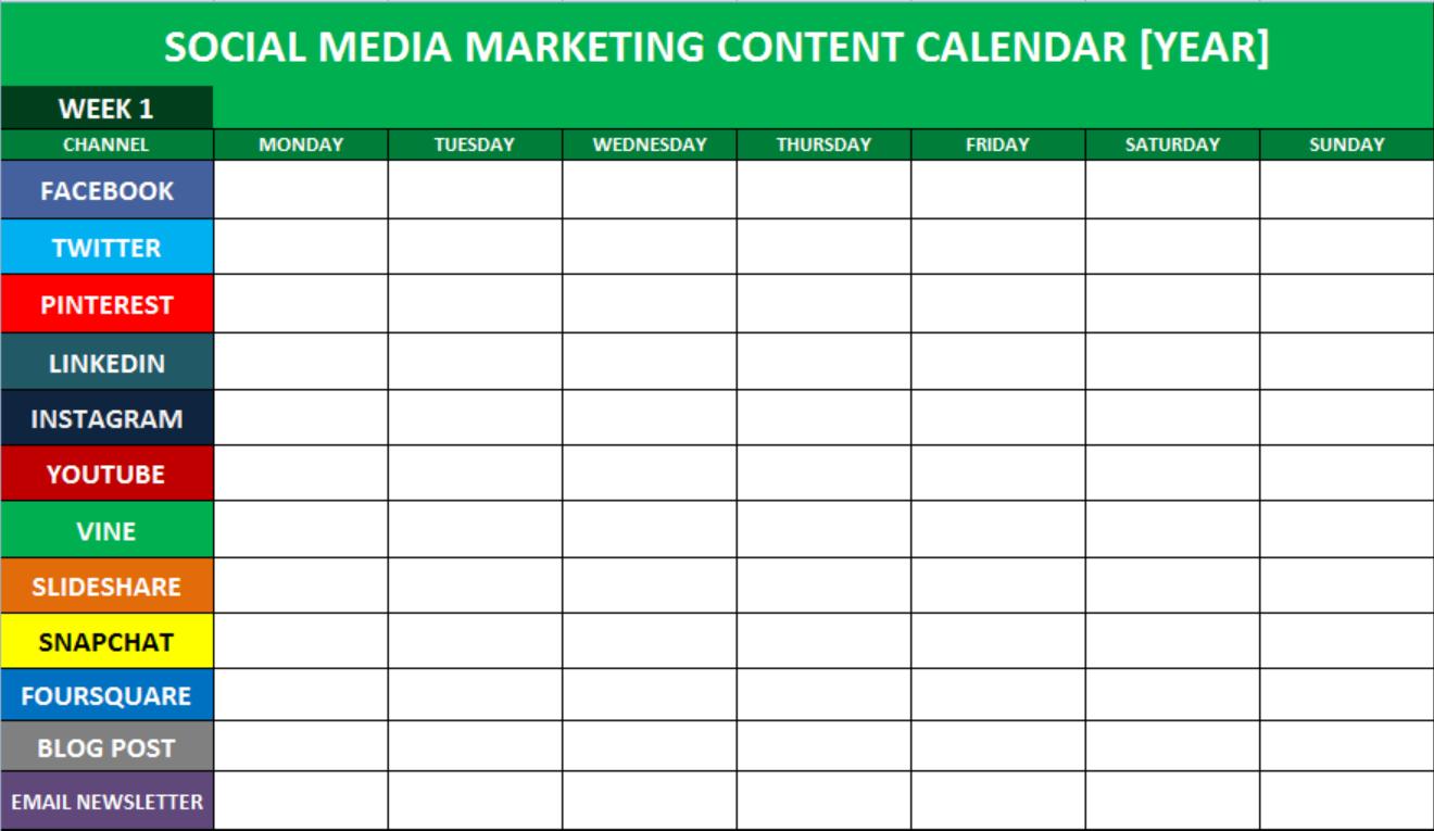 atur jadwal konten sosial media
